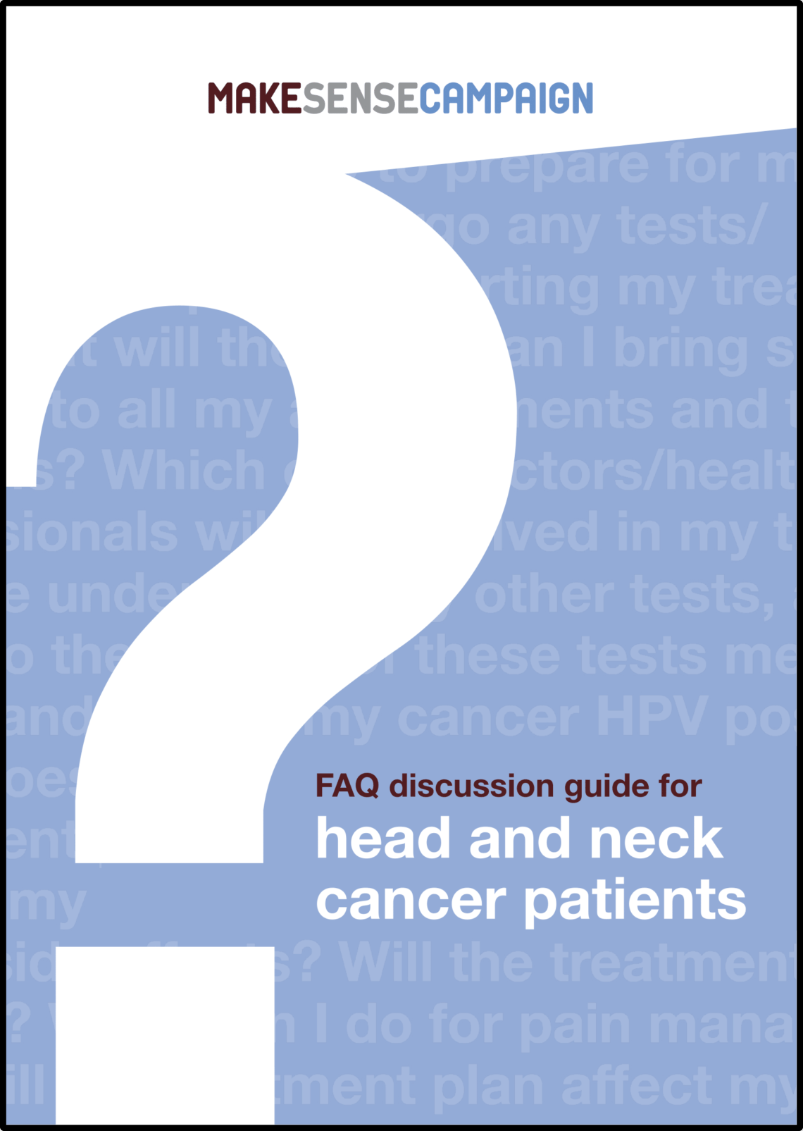 Make Sense Faq Discussion Guide Cover With Border