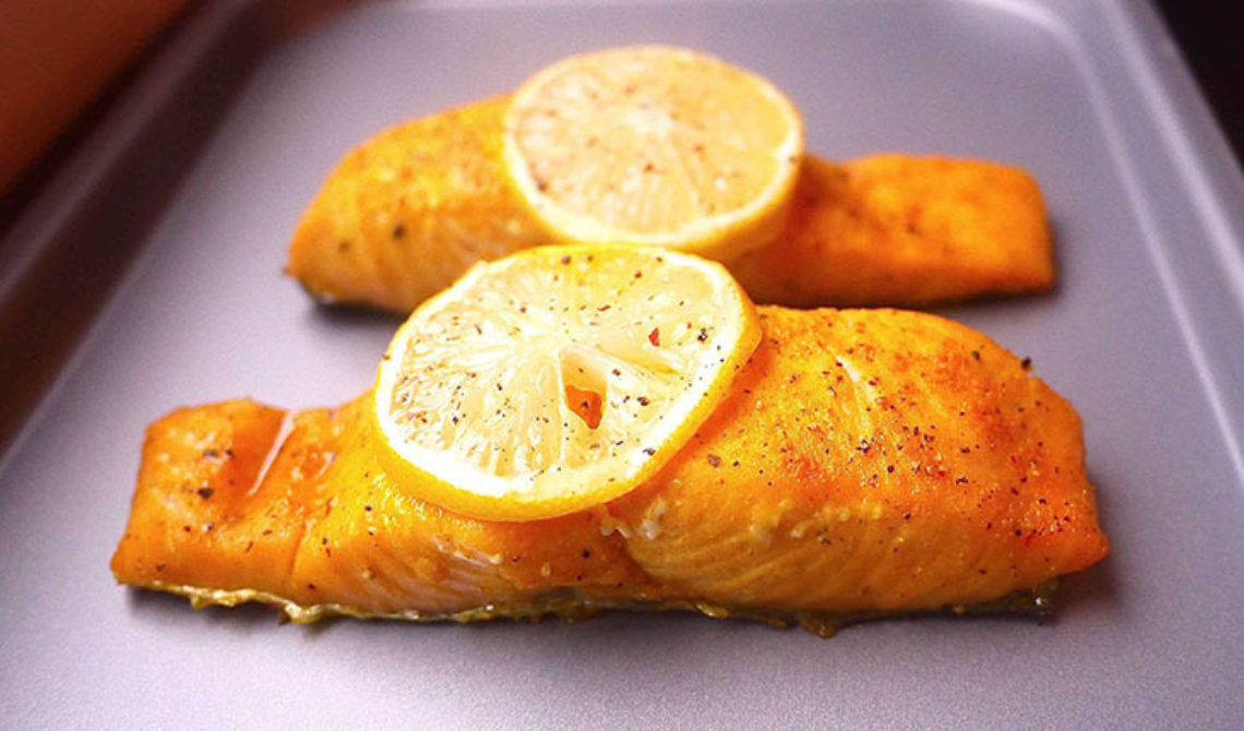 Recipe Roast Salmon With Turmeric